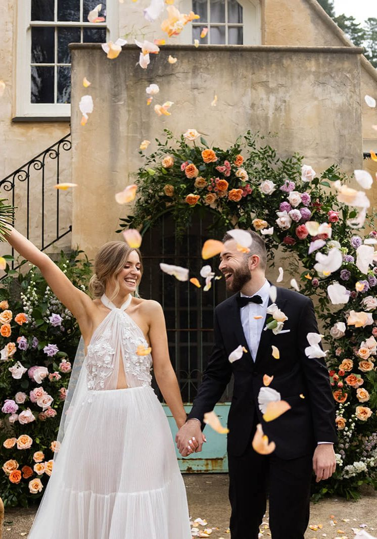 Found Collective Wedding Styling Will and Co Photography Maison De Moon Collab
